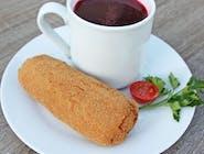 ZESTAW Krokiet  + barszczyk czerwony 200ml