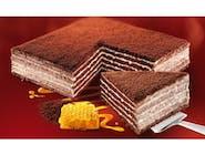 Marlenka - Miodownik czekoladowy z polewą.