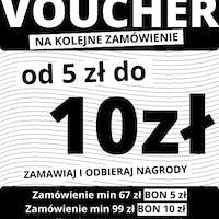 BON od 5 PLN do 10 PLN na kolejne zamówienie!