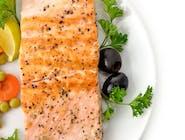 Grillowany filet z łososia atlantyckiego