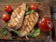 Grillowana pierś z pomidorami