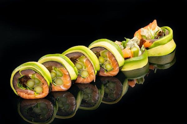 Sashimi szparagi