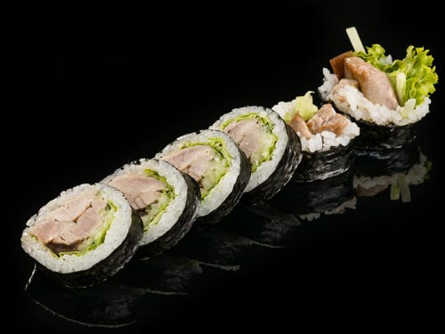 Tuńczyk w tempurze