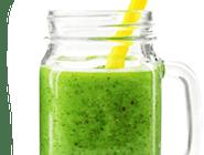 Zielony z kiwi
