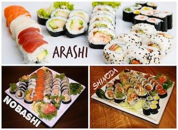 GRATIS futomaki do naszych dużych zestawów ARASHI, NOBASHI, SHINODA i AYUMI !!!