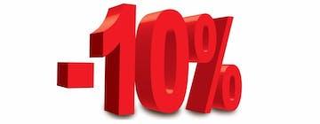 Rabat 10% !