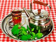 Herbata Arabska (3-4 osoby)  z miętą, kardamonem i cynamonem