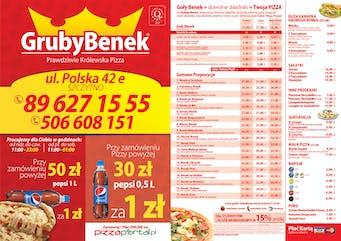 Pizzeria Gruby Benek Szczytno