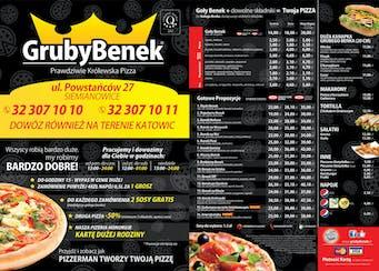Pizzeria Gruby Benek Siemianowice Śląskie