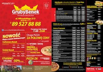 Pizzeria Gruby Benek Olsztyn