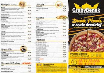 Ulotka pizzerii