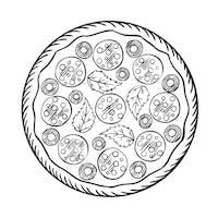 Duża pizza w cenie średniej