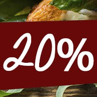 Rabat 20% !