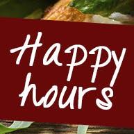 Happy Hours  9:00 - 12:00