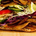 Kebab w bułce