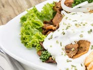 Kebab na talerzu ( wołowina) -mały
