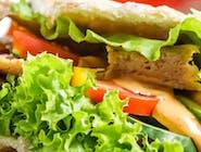Kebab w bułce [średni]