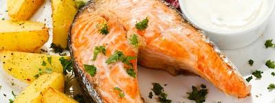Zestaw Filet z Łososia saute