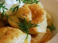 Pierogi z kaszą gryczaną i serem białym