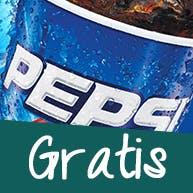 Zamów dużą pizze a puszkę Pepsi otrzymasz GRATIS