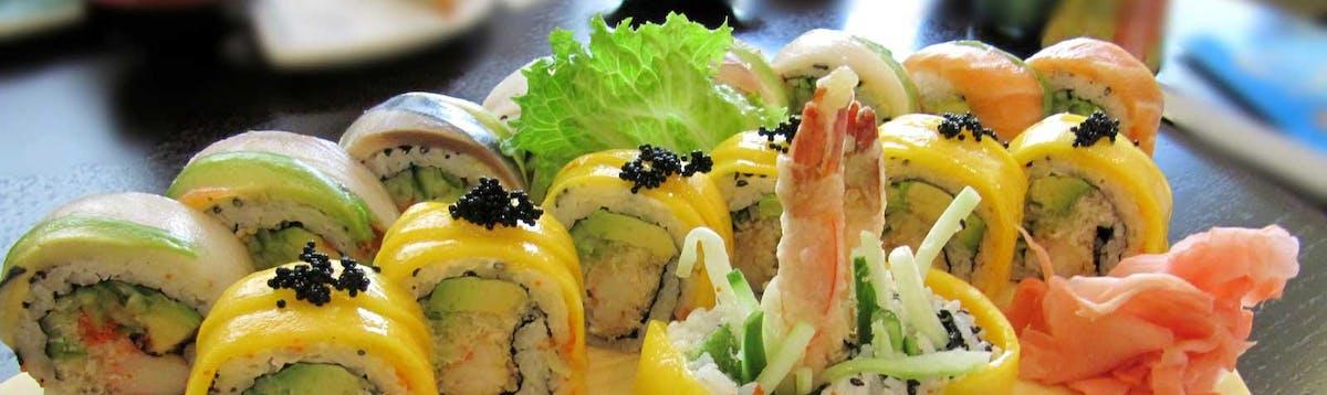 Sushi Ura Maki Gold