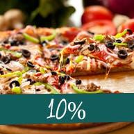 Wszystkie pizze 10% taniej