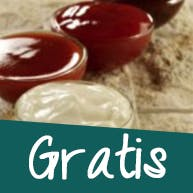 Sosy do pizzy Gratis!