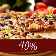 Druga Pizza 40% Taniej