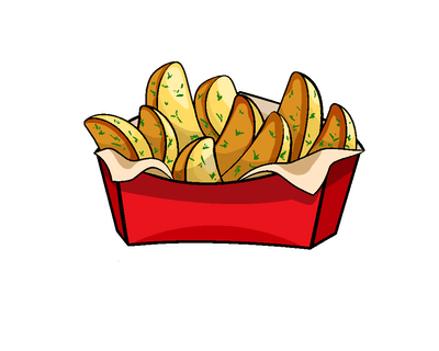 SOBOTA: 2-gie frytki lub ziemniaczki gratis
