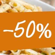 Trzecia pizza 50% taniej