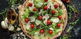 -50% na Drugą  Tańszą Pizze