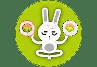 Bunny Handroll Sushi - Gdynia