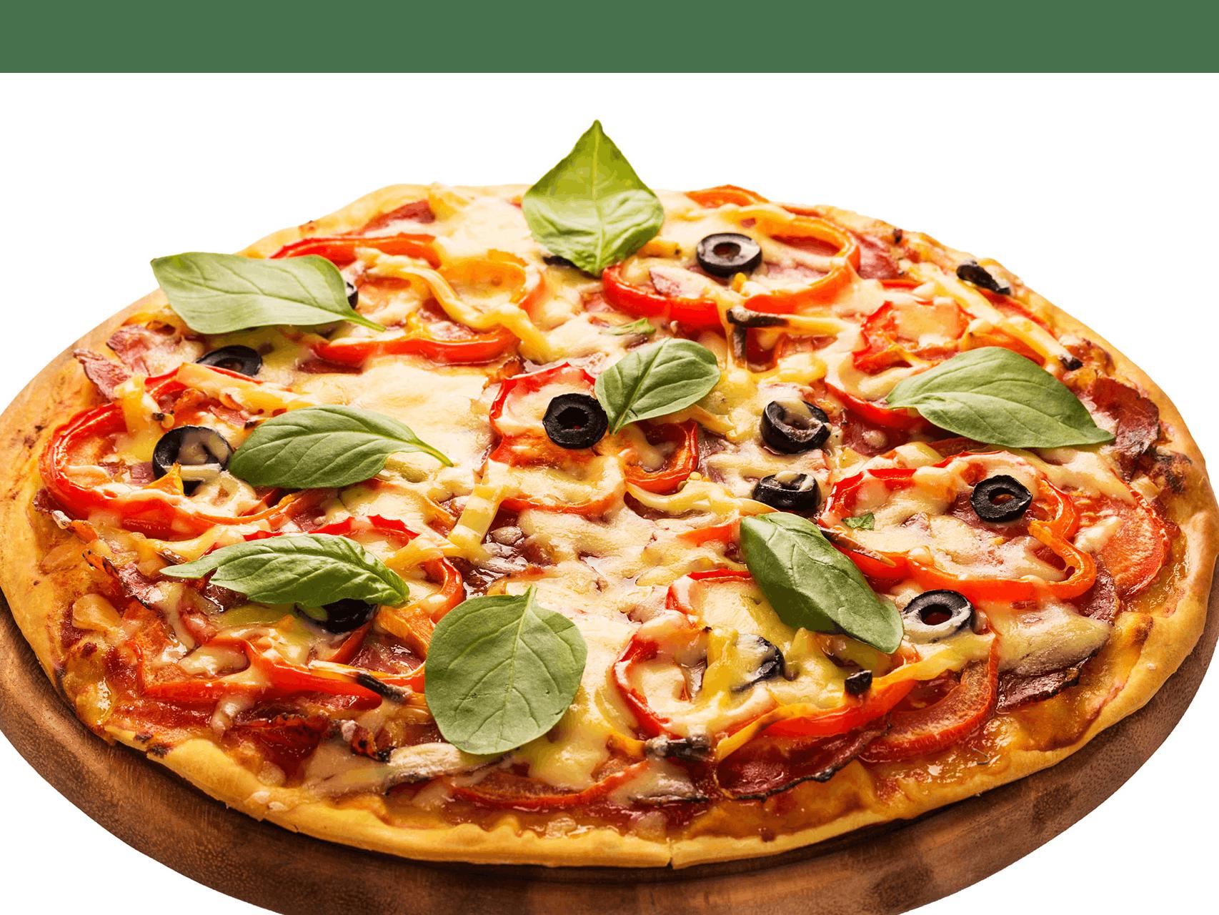 Pizza 24 cm z 3 składnikami