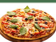 Pizza 25 cm z 3 składnikami