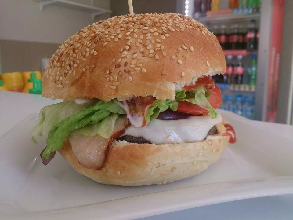 Burger wg własnej kompozycji