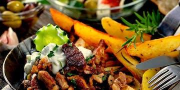 Kebab Talerz