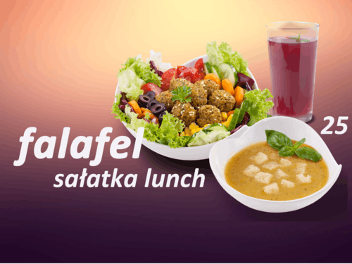 Sałatka Lunch