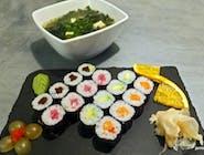2 - HOSO LUNCH - 16 szt + zupa MISOSHIRU gratis