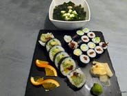 3 - WEGETARIAN LUNCH - 22 szt + zupa MISOSHIRU gratis